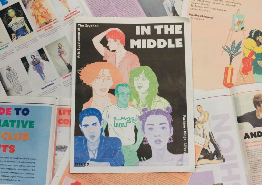 In The Middle LGBTQ Icons Cover