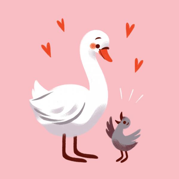 Swan Mum