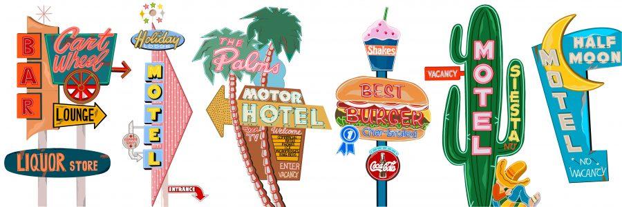 Motel Neon Signs