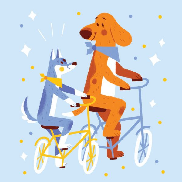 Biking Dogs