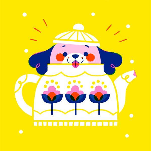 Teapot Puppy