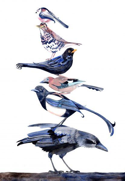 bird stack