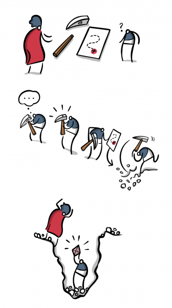 Encouraging Independent Digging
