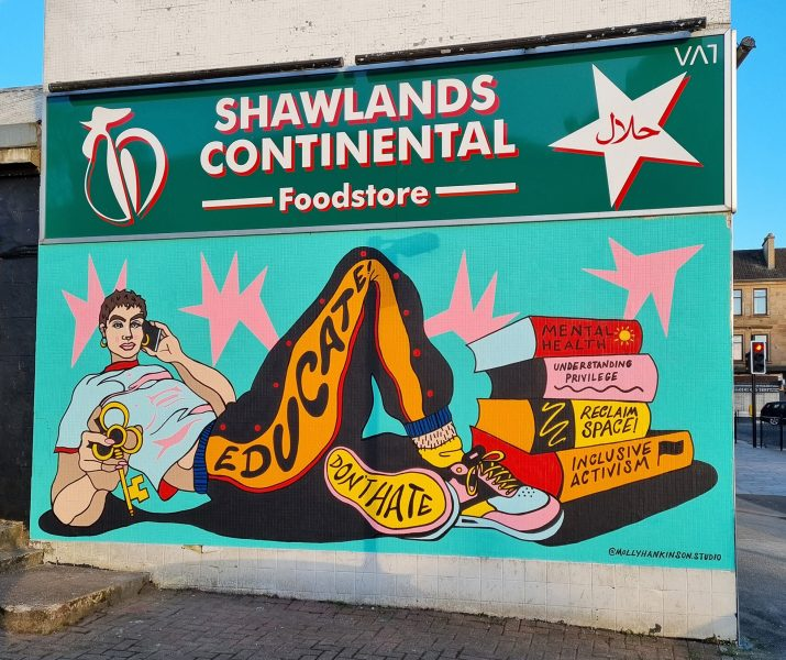 Molly Hankinson - Shalwands Mural Trail 2