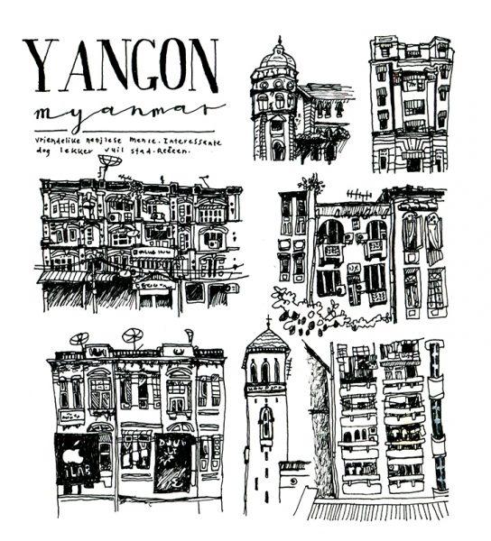 Impressions of Yangon