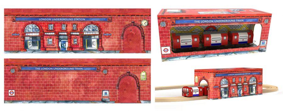 London Underground Station Packaging