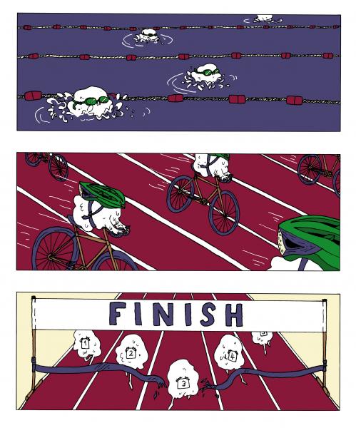Dough Triathlon