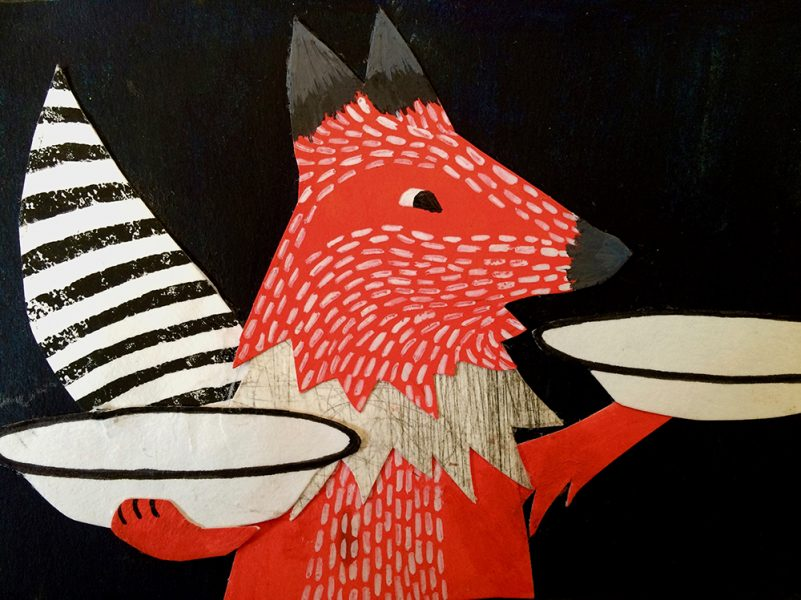 The Fox and the Stork - Aesop's Fables