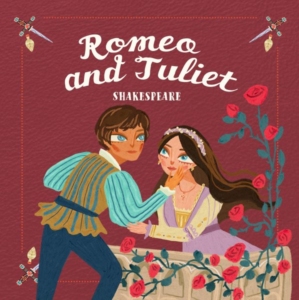 Romeo & Juliet, book cover