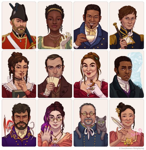 The Good Society RPG Connections