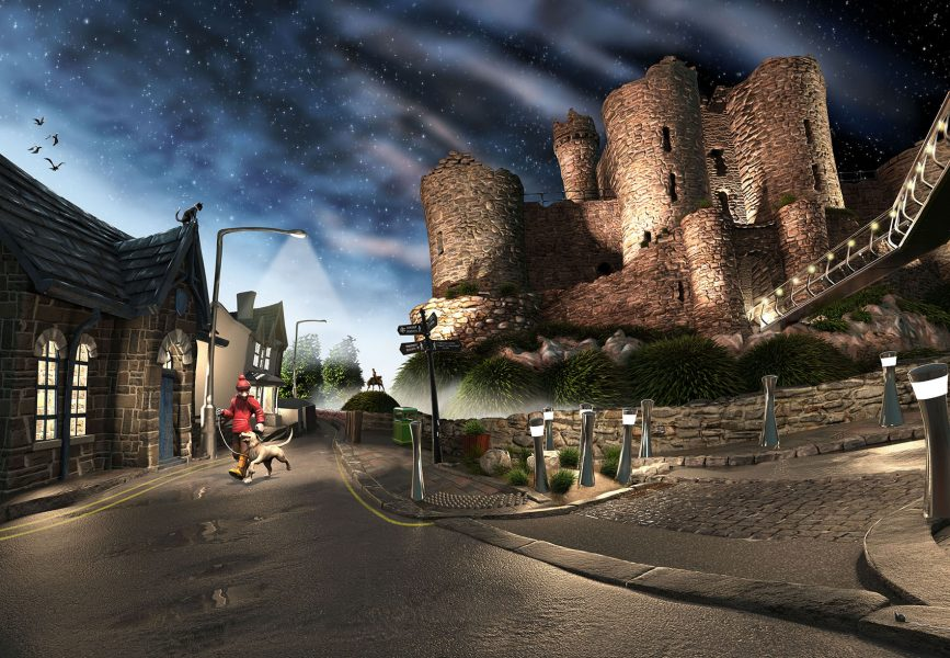 16. Harlech Castle
