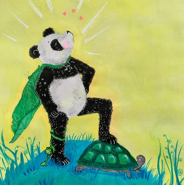 I am super panda