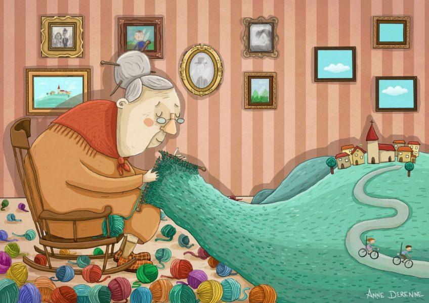 Knitting memories 1