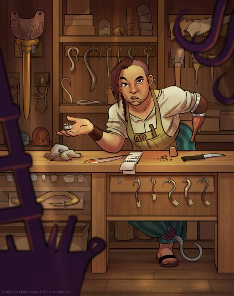 Acquisitions Incorporated: Peg and Hook Shop