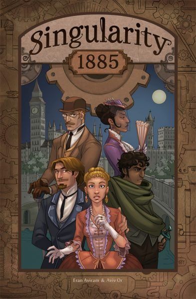 Singularity 1885 Cover