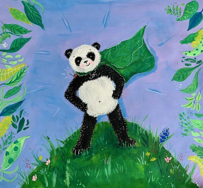 Super Panda Front cover