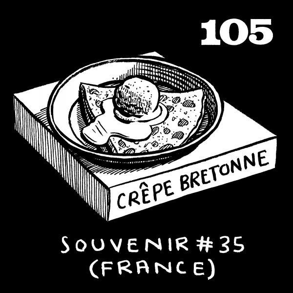 Crêpe Bretonne drawing
