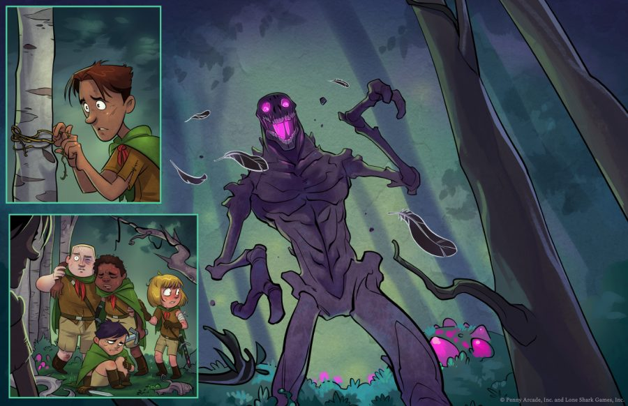 Thornwatch game storyboard
