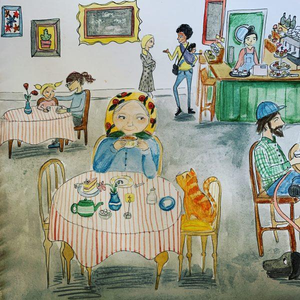 True Love - Cafe scene