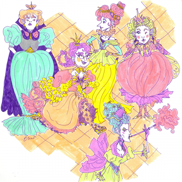 Pastel Princesses