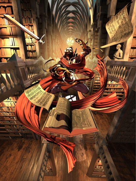 5. Strange library