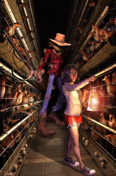 8. Scarecrow V Cover