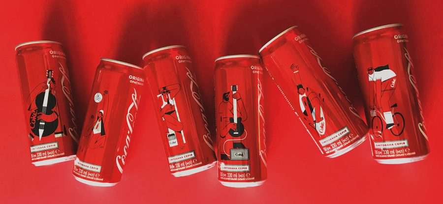 Coca-Cola Sleek Cans Packaging