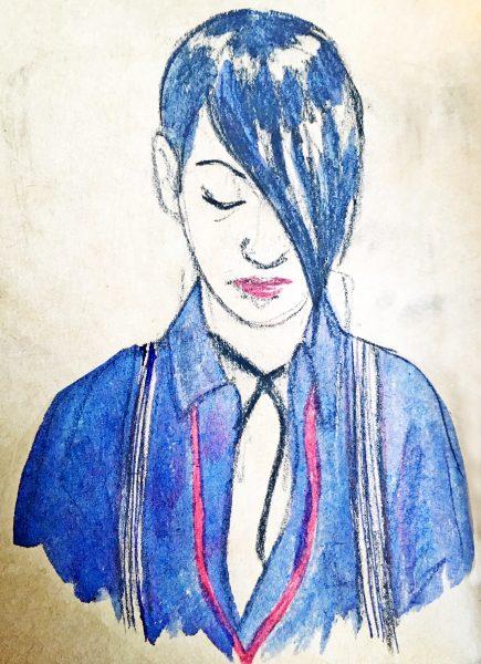 Blue Hair, Graduate Fashion Week