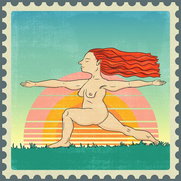 Sunrise Stamp