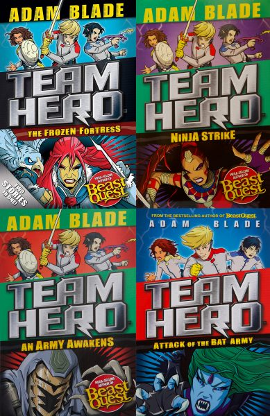 Team Hero covers