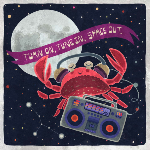 Turn on, tune in, space out