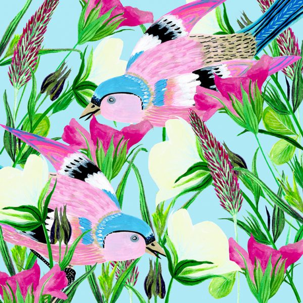 birdagramwildflowersbirds