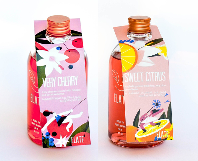 Summer Packaging for Elate tea