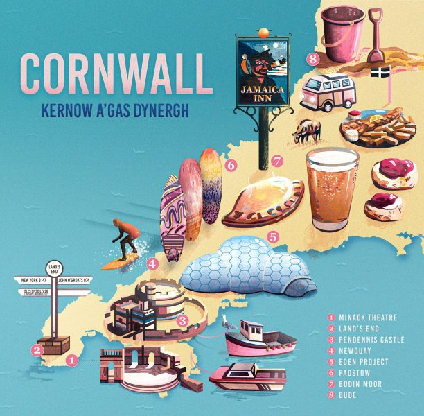 cornwall-map-illustration