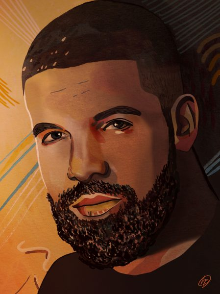 Drake Portrait Illustration