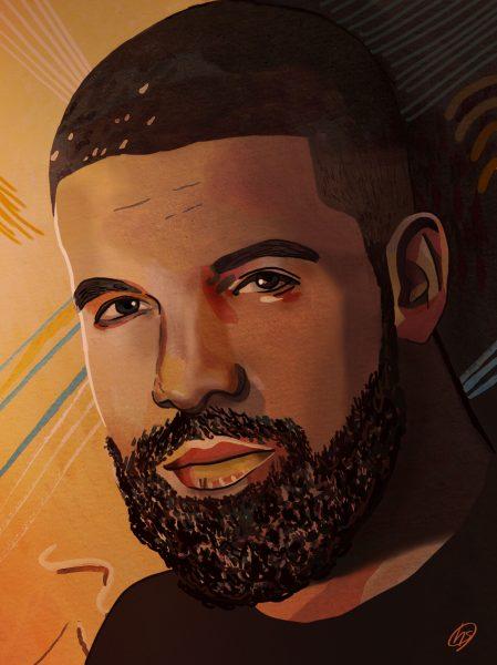 Drake Portrait Illustration