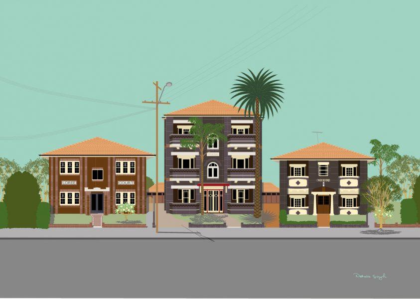 Clovelly Rd flats