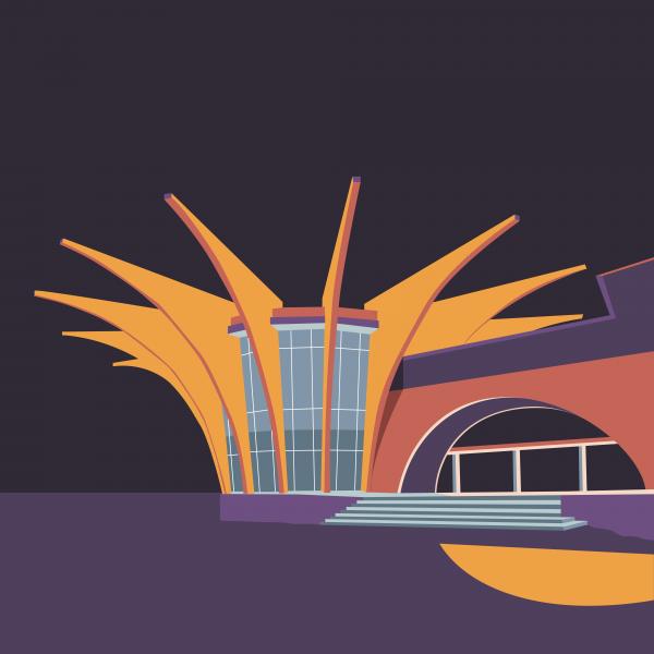 Soviet Modernism: Central Bus Station in Hrazdan