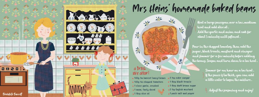 Mrs Heins' baked beans recipe