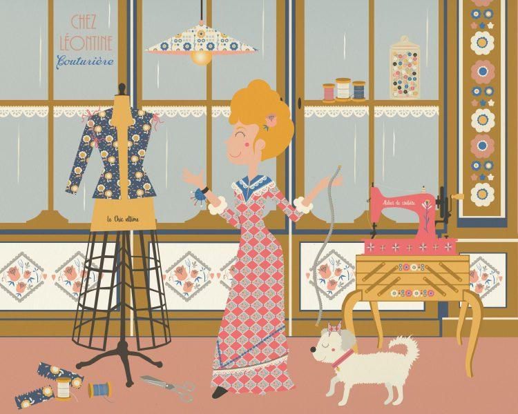 l'atelier de la couturière
