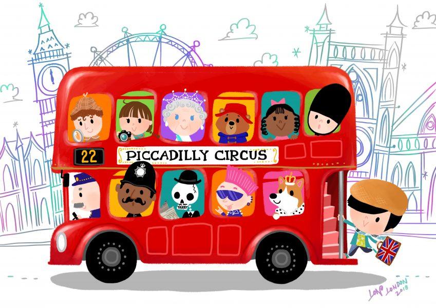 London Bus Ride