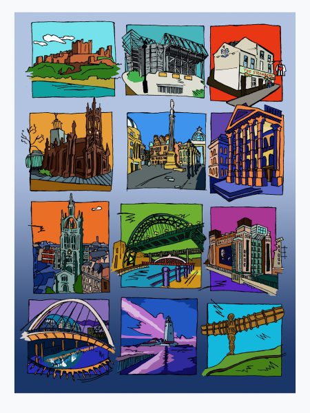 newcastle sequence colour border a3 copy