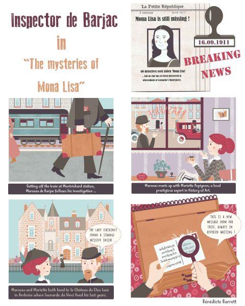 the mysteries of Mona Lisa - novel page