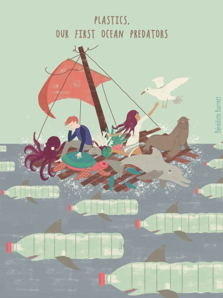 plastics, our first ocean predators