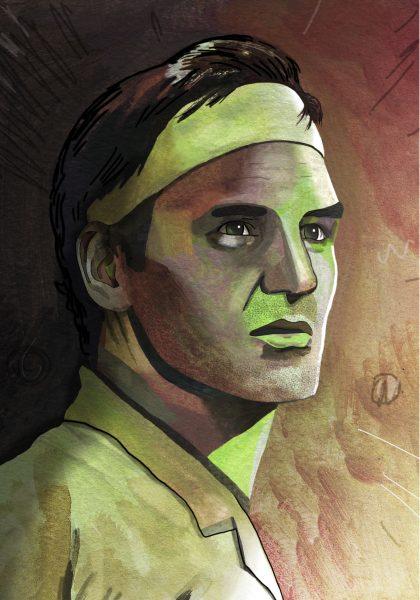 Roger Federer Portrait