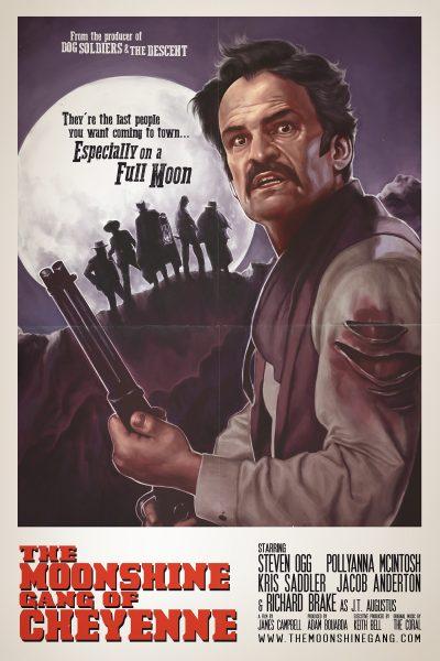 The Moonshine Gang of Cheyenne - Poster art
