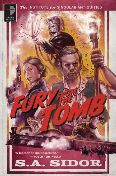 Fury From the Tomb Cover art