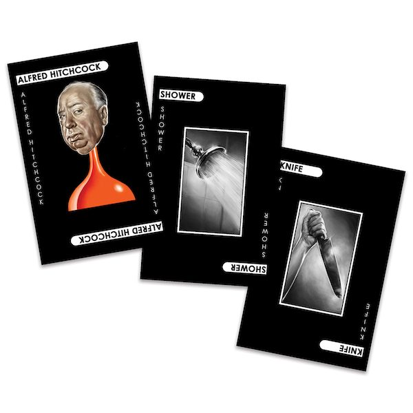 Alfred Hitchcock Cluedo 'Murder Cards'