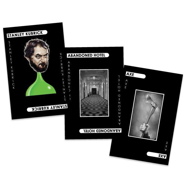 Stanley Kubrick Cluedo 'Murder Cards'