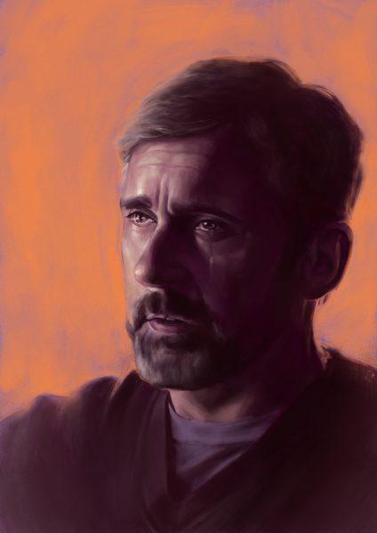 Steve Carell portrait